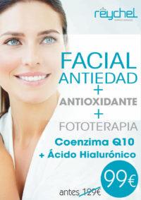 Facial Q10 + fototerapia 2